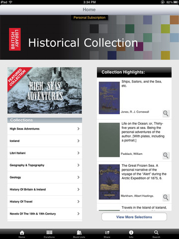 British Library 19th Century Books App - 1