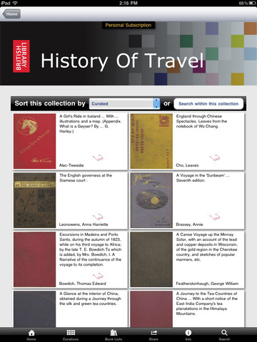 British Library 19th Century Books App - 3