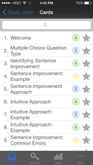 SAT Writing - powered by Brainscape App - 4