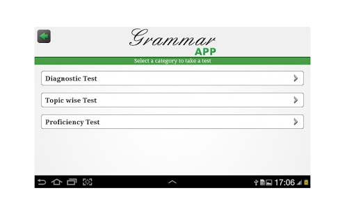 Grammar App by Tap To Learn App - 1