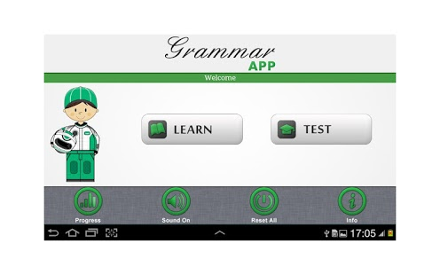 Grammar App by Tap To Learn App - 3
