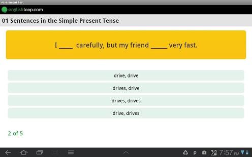Improve English Grammar App - 2