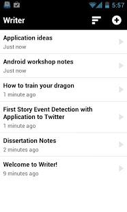 Writer App - 1