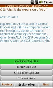 Computer Science MCQ App - 4