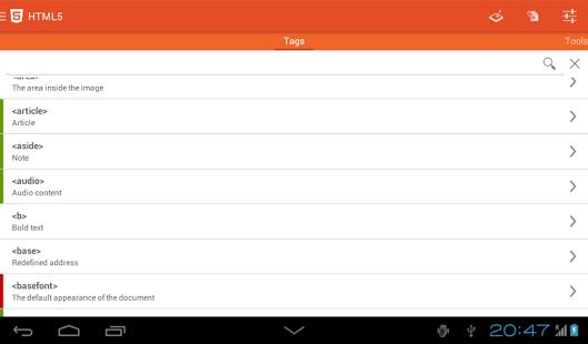 Learn HTML5 App - 2