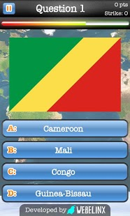 Geography Quiz Game App - 2