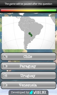 Geography Quiz Game App - 3