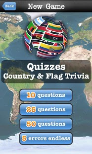 Geography Quiz Game App - 5