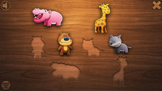 Educational Animal Games - Puzzles for One,Two, & Three Year Old Kids-1