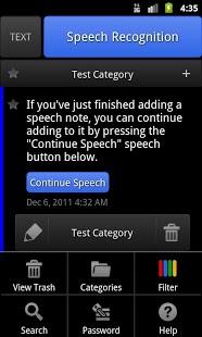 ListNote Speech/Text Notepad-1