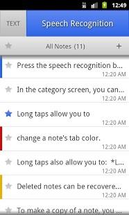 ListNote Speech/Text Notepad-2