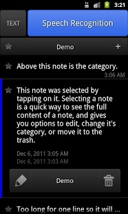 ListNote Speech/Text Notepad-4