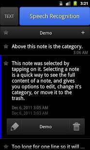 ListNote Speech/Text Notepad-4