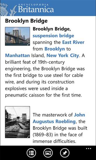 Encyclopaedia App - 4