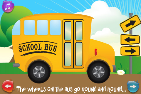 Wheels on the Bus App - 1