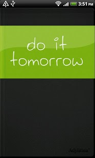 Do it (Tomorrow)-1