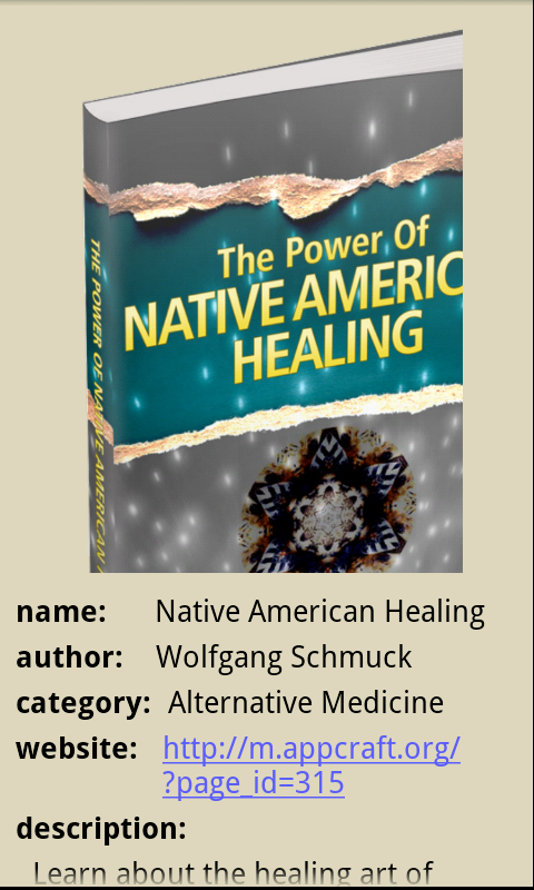 Native American Healing App - 1