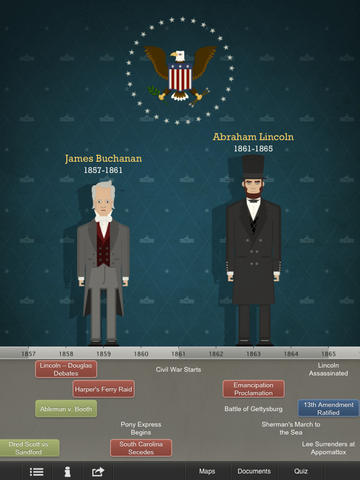 American Presidents for iPad-1