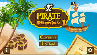 Pirate Phonics 1 : Kids learn to read! App - 1