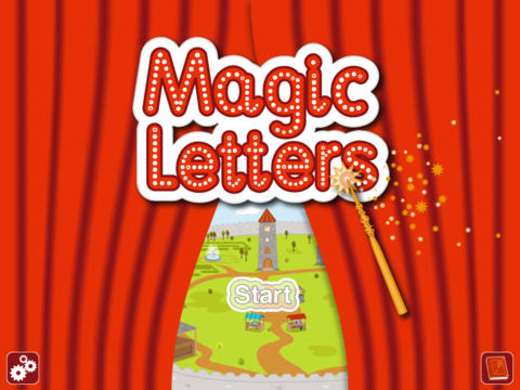 Writing Magic Letters : Kids learn to write App - 1
