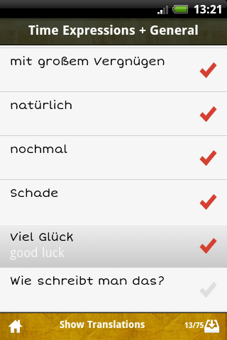 German GCSE Vocab -Edexcel App - 5