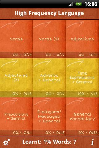 Spanish GCSE Vocab -Edexcel App - 3