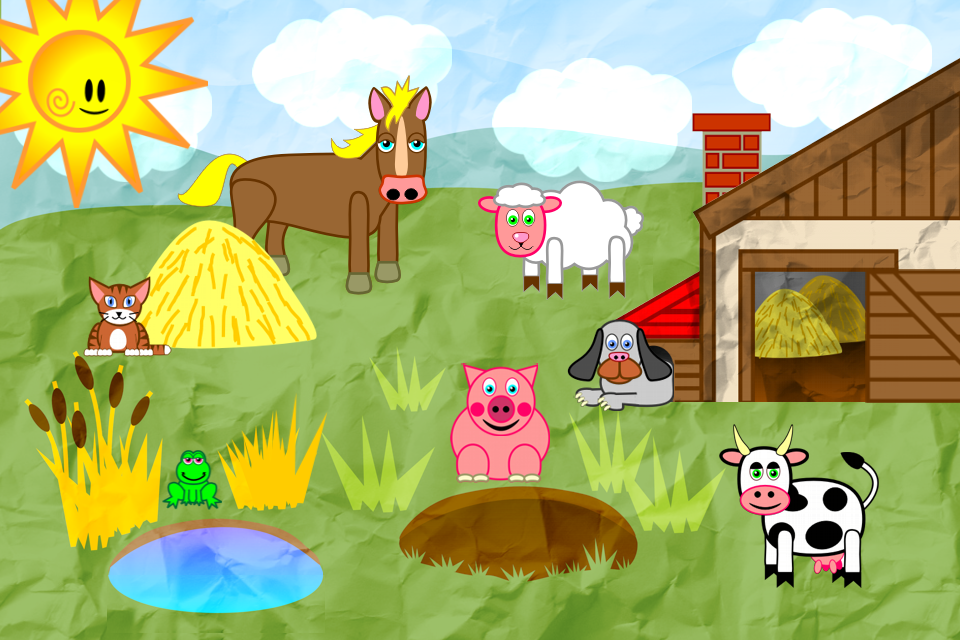 Animals For Toddlers App - 1