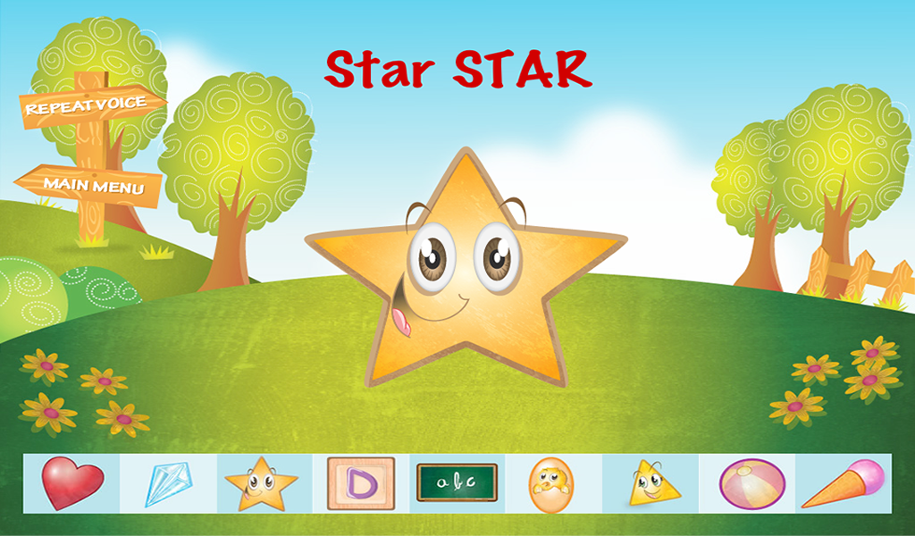 My First Words - Fruits and Shapes App - 2