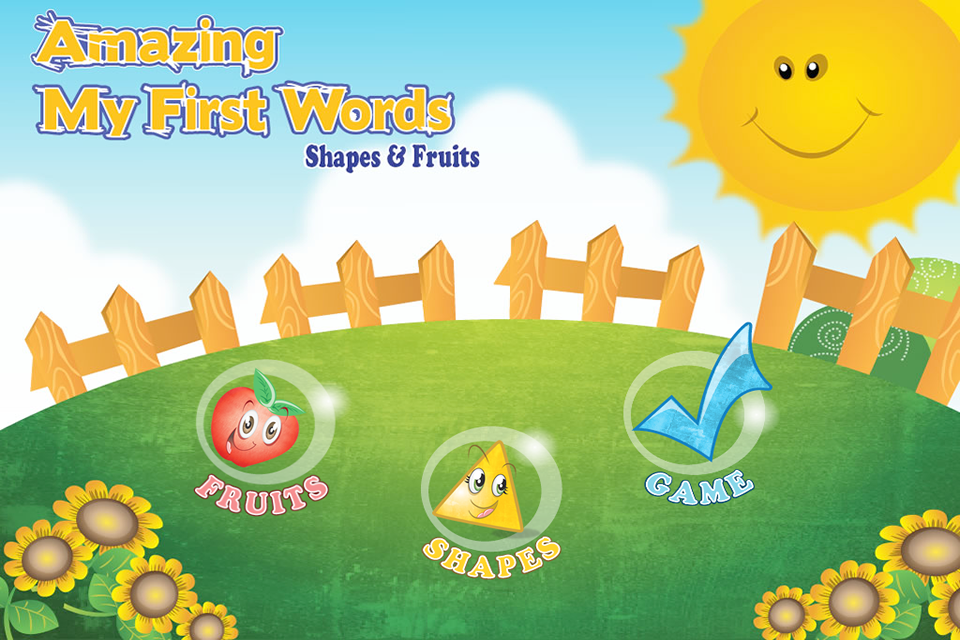 My First Words - Fruits and Shapes App - 4
