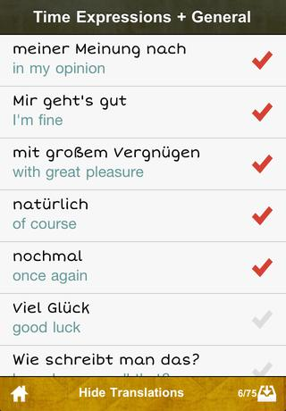 cRaMiT German GCSE Vocab - Edexcel App - 4