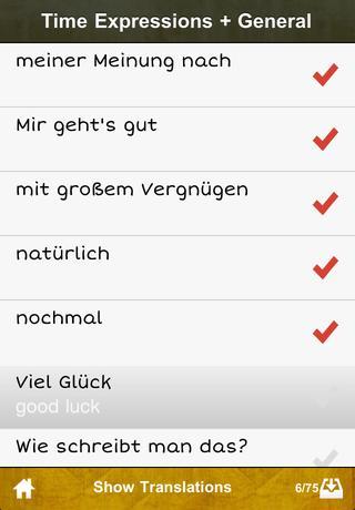cRaMiT German GCSE Vocab - Edexcel App - 5