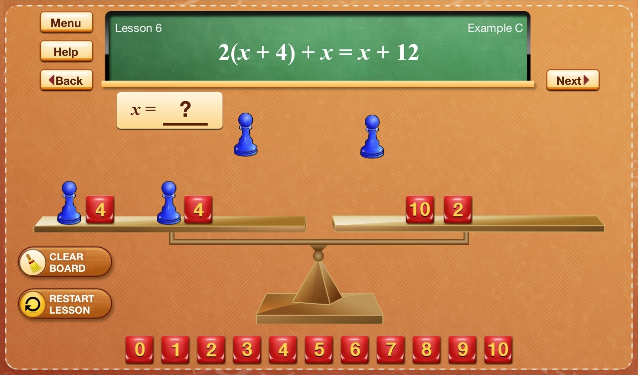 Hands-On Equations 1-5