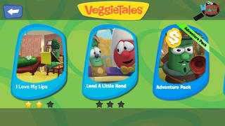 Watch and Find - VeggieTales Games and Video Clips - A Fingerprint Network App-2
