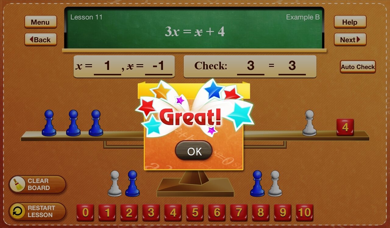 Hands-On Equations 2-4