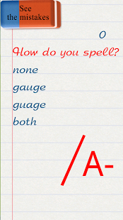 Wellwrite! -English words quiz App - 5