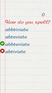 Wellwrite! -English words quiz App - 15
