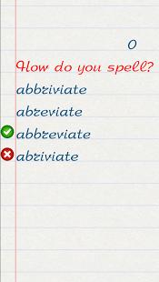 Wellwrite! -English words quiz-15