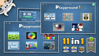 Playground 1 – Best of Edition. 12 games for kids in 1 App.-1