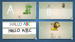 Playground 3 - ABC Edition. The kids app to learn how to read and write letters.-2