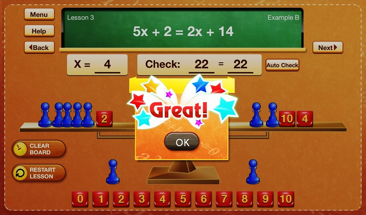 The Fun Way to Learn Algebra App - 1