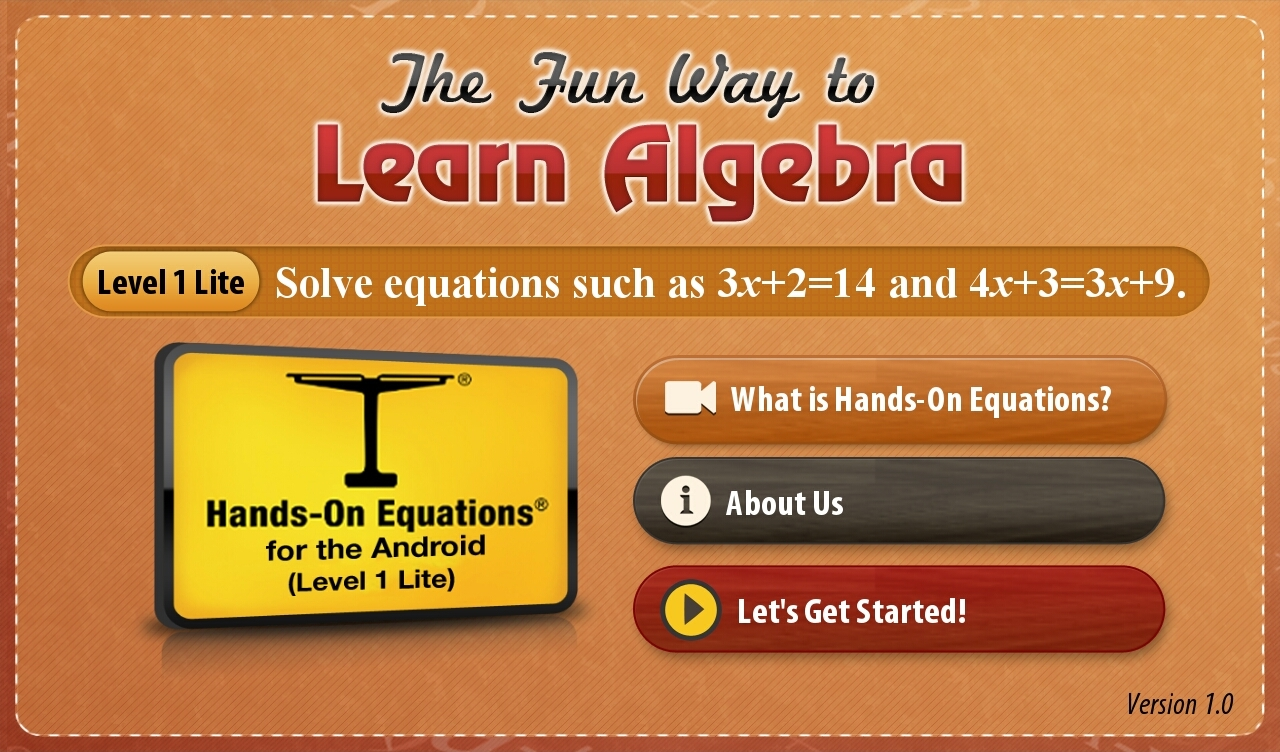 The Fun Way to Learn Algebra App - 5