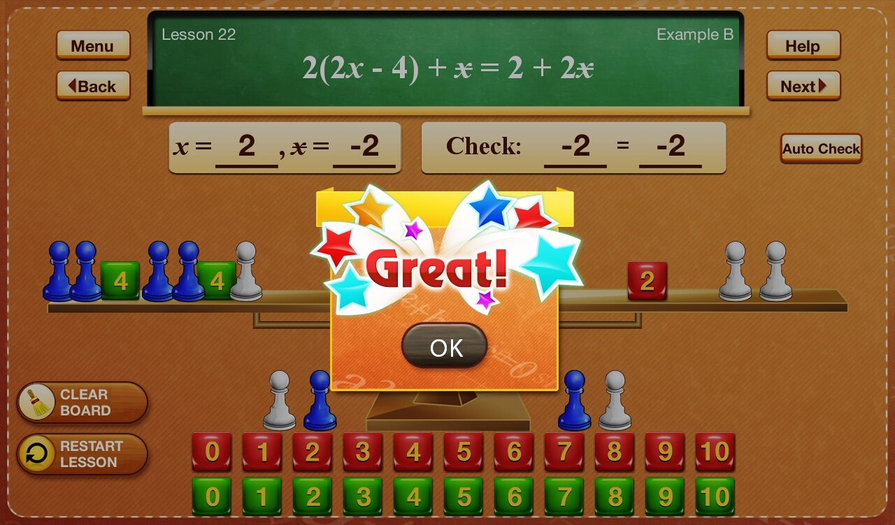 Hands-On Equations 3-4