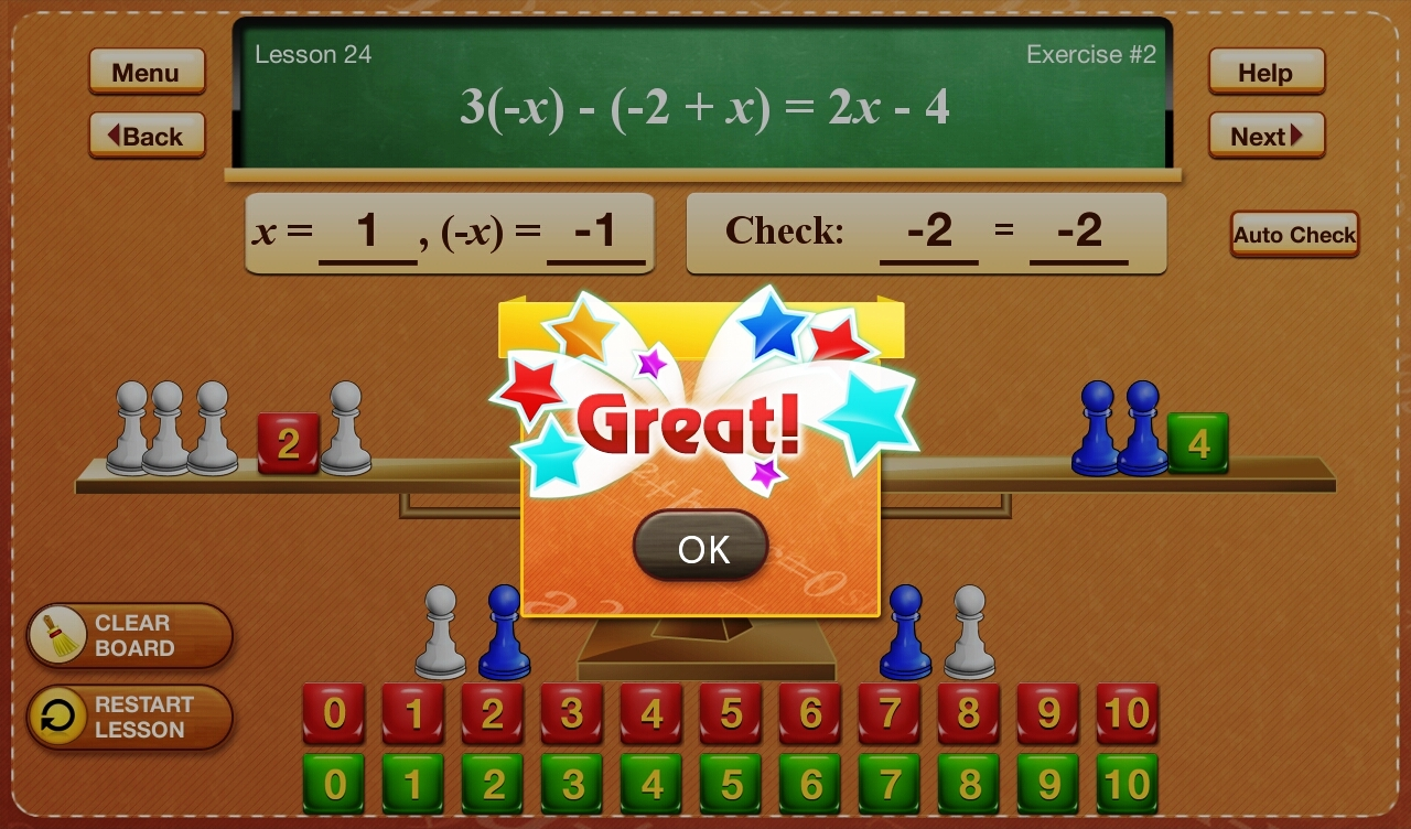 Hands-On Equations 3-5
