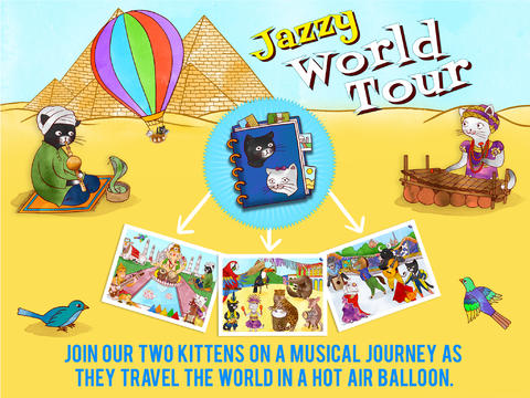 Jazzy World Tour - Musical Journey for Kids-1