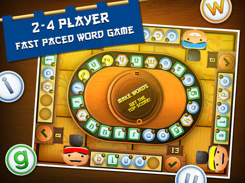 Sushi Scramble: Multiplayer Word Game - A Fingerprint Network App App - 1