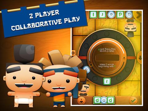 Sushi Scramble: Multiplayer Word Game - A Fingerprint Network App-2