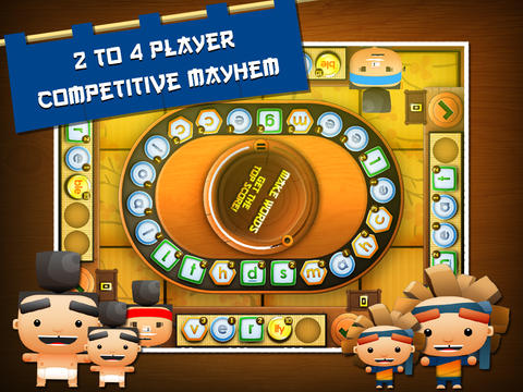 Sushi Scramble: Multiplayer Word Game - A Fingerprint Network App-3
