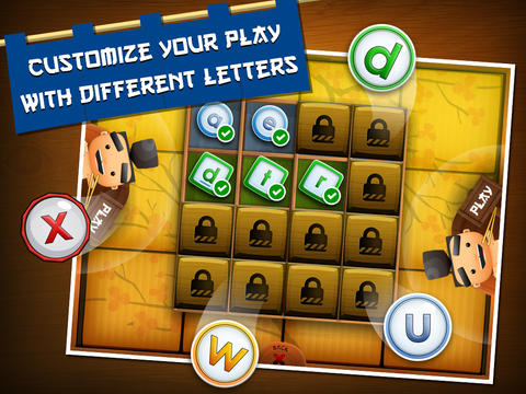 Sushi Scramble: Multiplayer Word Game - A Fingerprint Network App-4