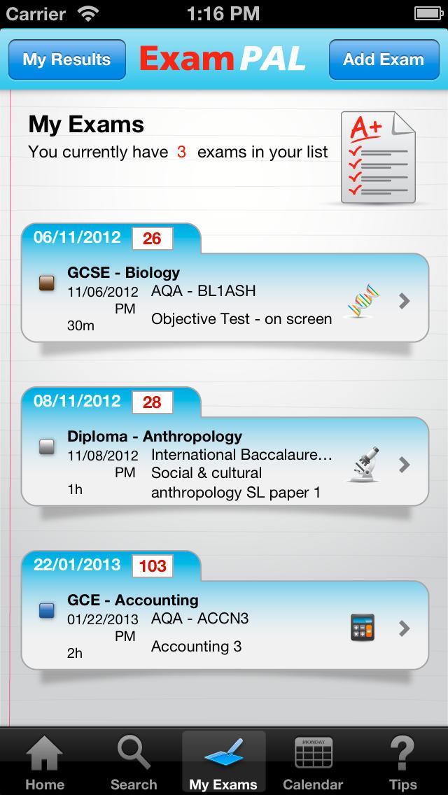 Exam Pal App - 3
