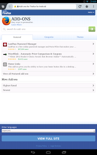 Firefox Browser for Android App - 2